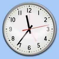 無料デスクトップ時計一覧 - フリーソフト
