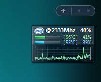 窓の杜 - 【REVIEW】CPUの各コアごとの使用率と温度を表示するVista ...