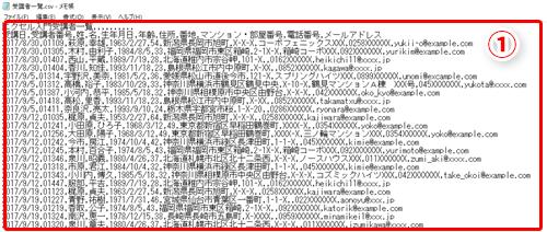 excel csvファイルを開いたらデータがおかしくなった エクセルでcsv