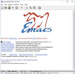 テキストエディター「GNU Emacs ...