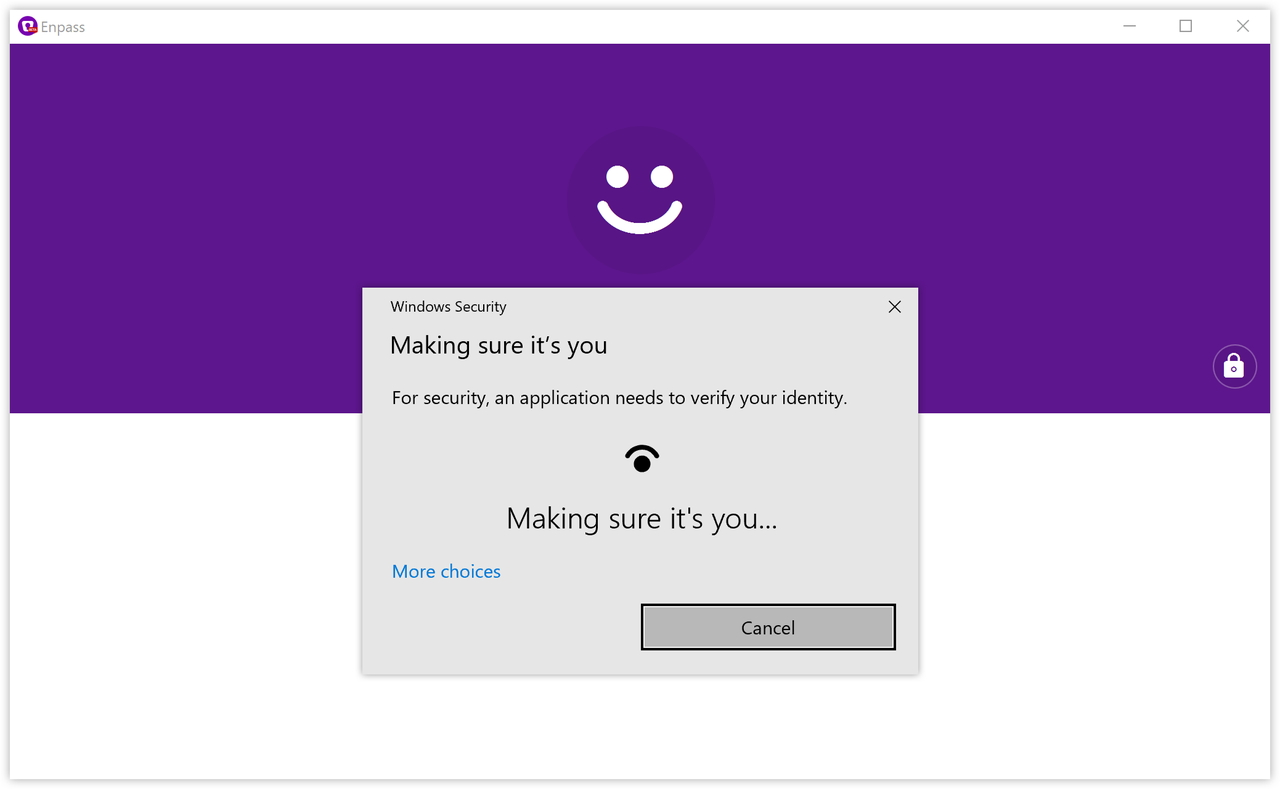 """Windows Hello""をサポート"