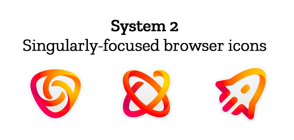 """Singularly-focused browser icons"""