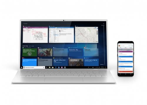 """873675e526 Windows 10の""""タイムライン""""機能、Androidからもアクセス可能に - 窓の杜"""