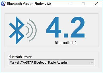 db433f812e デバイスに搭載されているBluetoothのバージョンをGUIで簡単にチェック ...