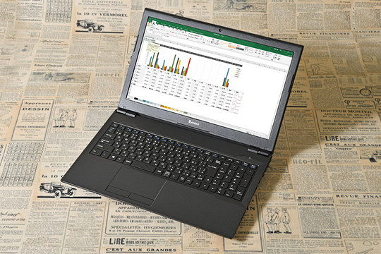 """1eda60f96a ユニットコムのノートパソコン""""iiyama STYLE-15FH039-i3-UHEX""""。高い基本性能と最新のビジネスシーンに対応した 各種装備、さらに圧倒的なコストパフォーマンスを ..."""