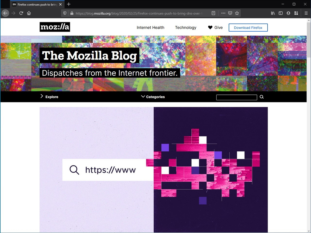 "公式ブログ""The Mozilla Blog"""