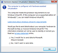 �uMicrosoft Hardware-Assisted Virtualization Detection Tool�v