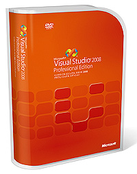 「Visual Studio 2008 Professional Edition」
