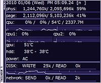 レビュー】CPU使用率やHDD温度な...