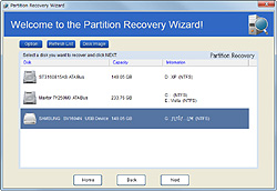 """Partition Recovery Wizard""機能"