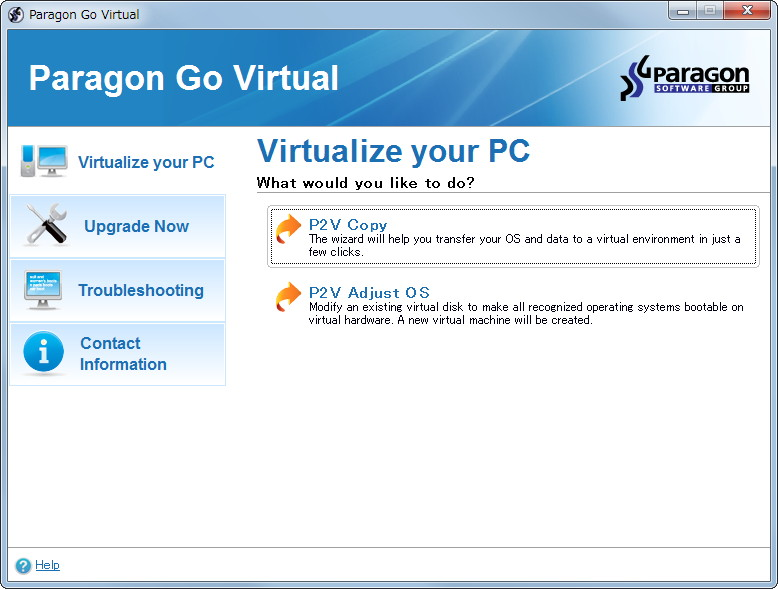 「Paragon Go Virtual」v1.0