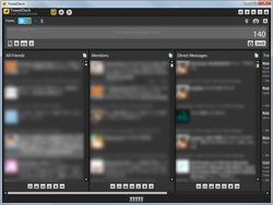 「TweetDeck」User Streams Preview版