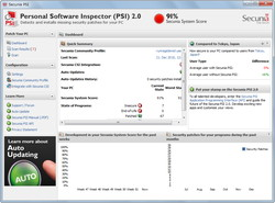 「Secunia Personal Software Inspector」v2.0