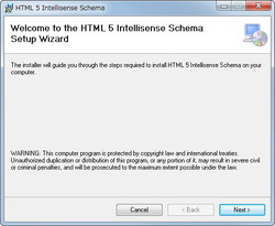 「HTML 5 Intellisense for Visual Studio 2010 and 2008」v1.0