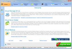 「Gladinet Cloud Desktop Starter Edition」v3.0.569