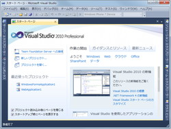 「Visual Studio 2010 Professional」