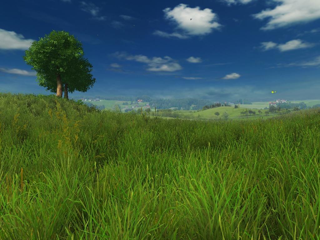 レビュー もしwindows Xpの 草原 壁紙をリアルに描いたら Grassland