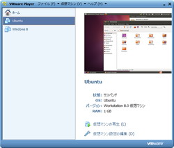 「VMware Player」v4.0