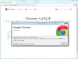 「Google Chrome」v15.0.874.102