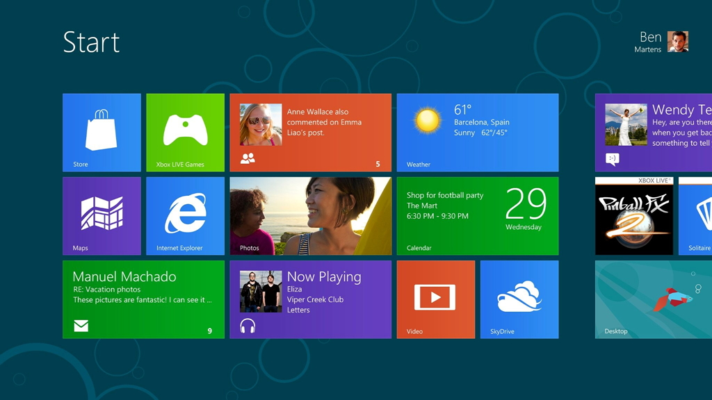 「Windows 8 Consumer Preview」(同社サイトより引用)