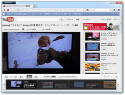"「Adobe Flash Player」を利用した""YouTube""の視聴"