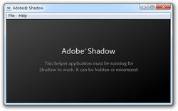 「Adobe Shadow」Release 3