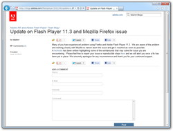 """Adobe AIR and Adobe Flash Player Team Blog"""