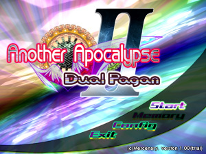 「Another Apocalypse Ⅱ Dual Pagan」
