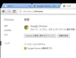 「Google Chrome」v22.0.1229.79