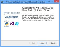 Python Tools for Visual Studio」v2 0が正式公開。無償のVS統合