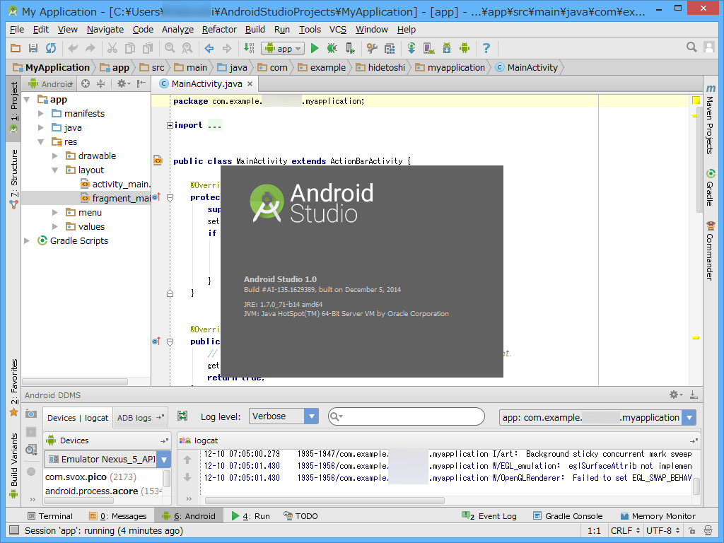 Googleandroid studio 10android for Google docs android studio