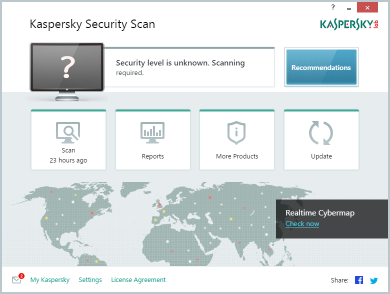 「Kaspersky Security Scan」v15.0.0.740