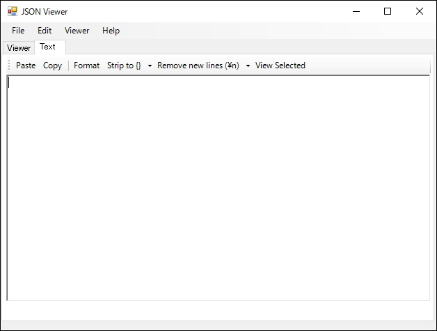 「JSON Viewer」v1.2