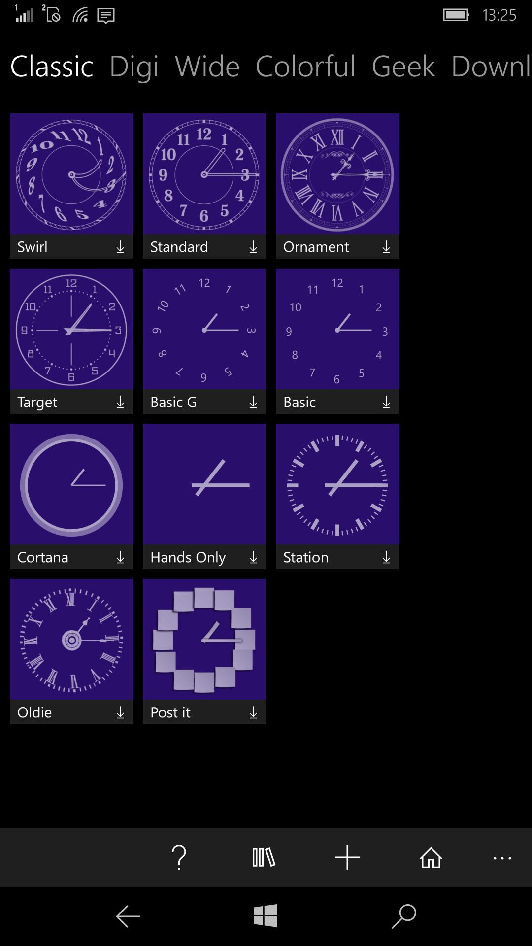 Windows 10 Mobileで時計をスタート画面に表示したい マルわかり Windows 10 Mobileガイド 窓の杜