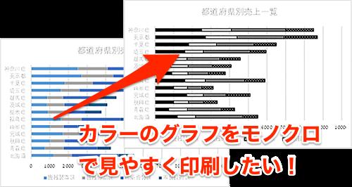 【Excel】表やグラフをモノクロ印刷するときに失敗したくない! エクセルで資料を見やすく印刷するテク - いまさら ...