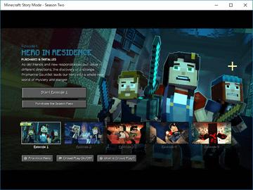 マイクラの世界で紡がれる物語 minecraft story mode がwindows 10