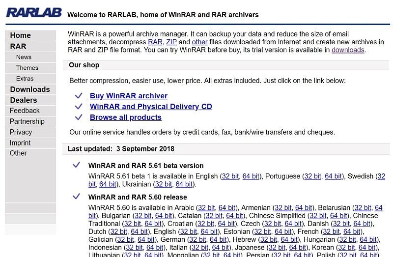 圧縮・解凍ソフト「WinRAR」v5 61 beta公開 ほか - ダイジェストニュース