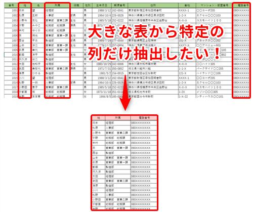 Excel】見たい列が画面に収まらなない問題を解決!エクセルの新関数 ...