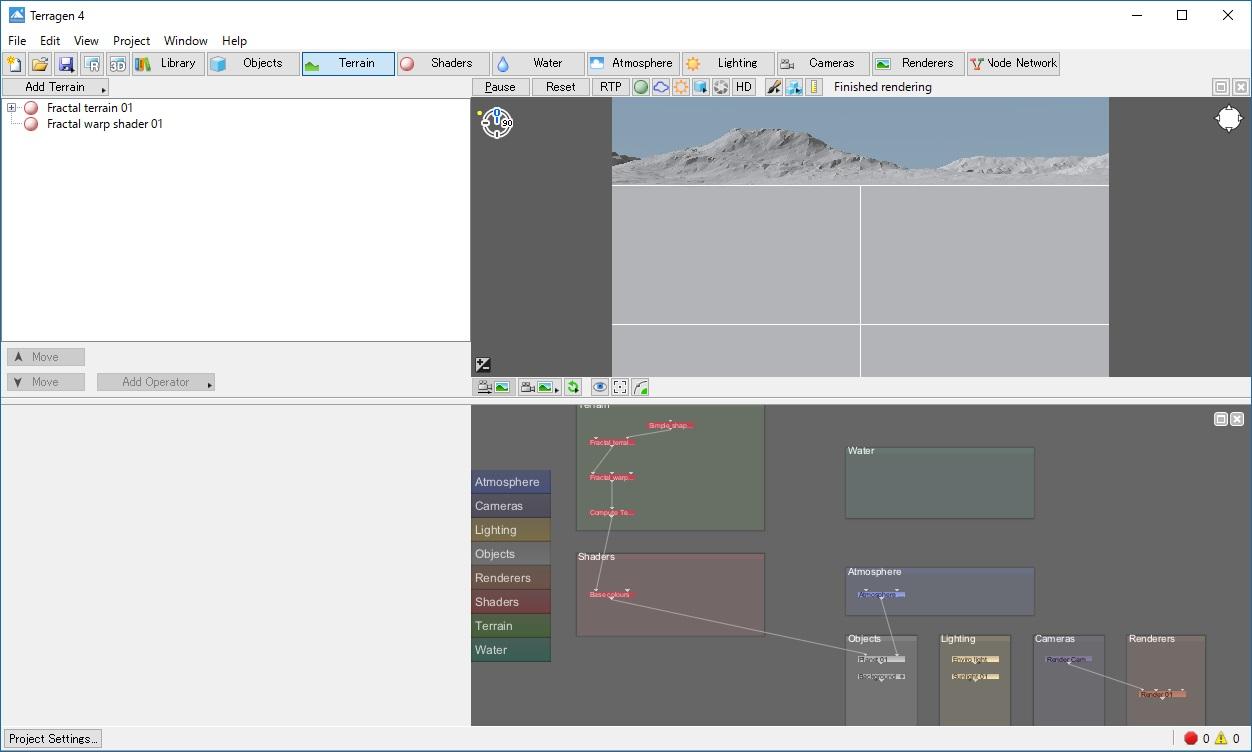 Terragen」3D景観描画ソフト - ...