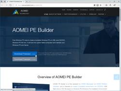 AOMEI PE Builder」「Windows PE」を利用したOSの復旧環境を手軽